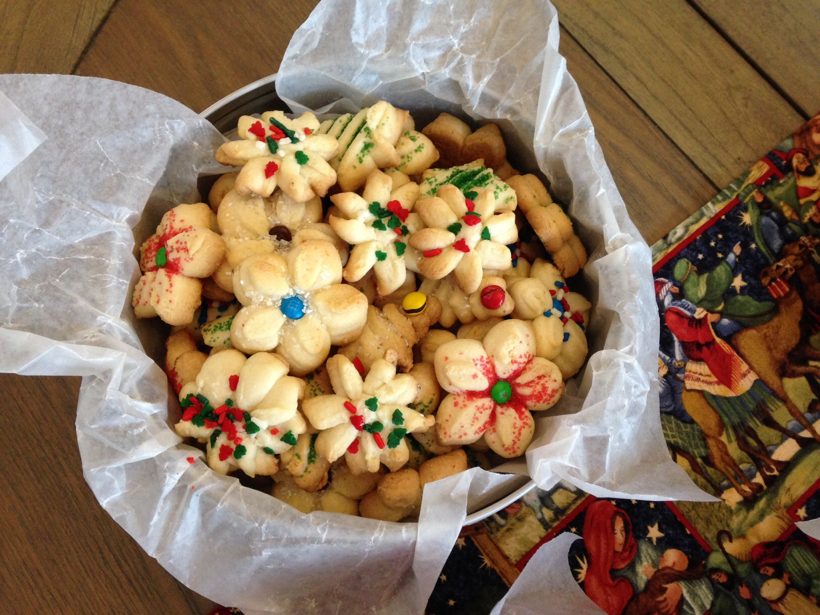 Christmas Butter Cookies Aka Super Shooters Healthy Appetites